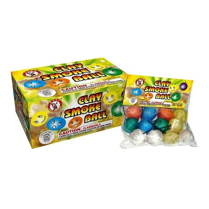Clay  Color Smoke balls