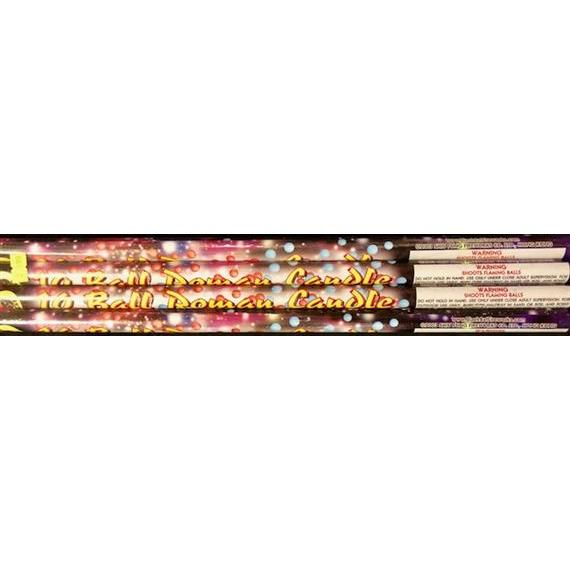 10 ball Roman Candle