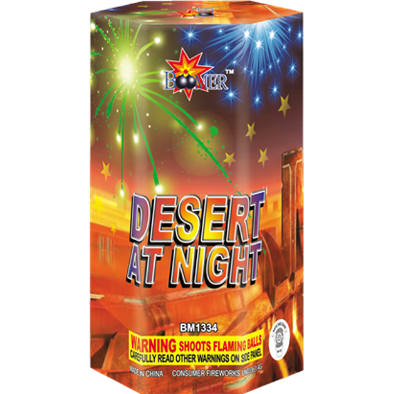 desert at night