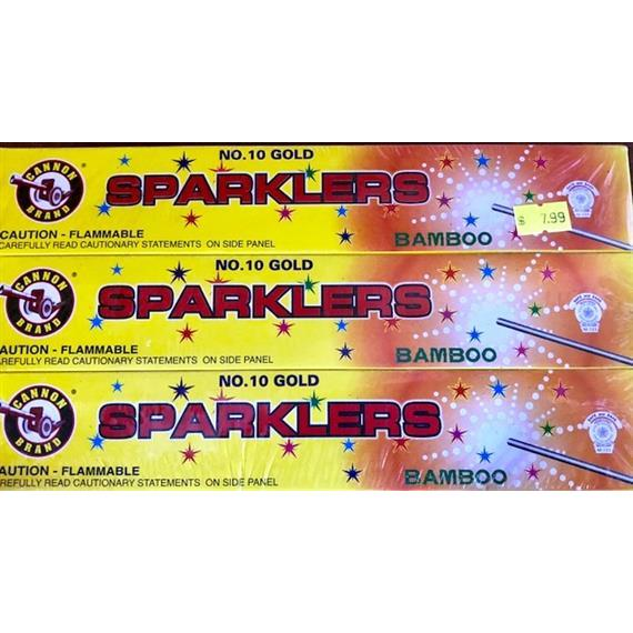 cannon sparklers
