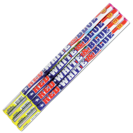 Red White & Blue Roman Candles (4p)