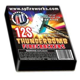 12S Thunderbomb Firecrackers (1 pack of 40/12)