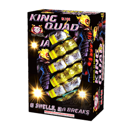 King Quad Artillery Shells( 6 Shells- 24 breaks)