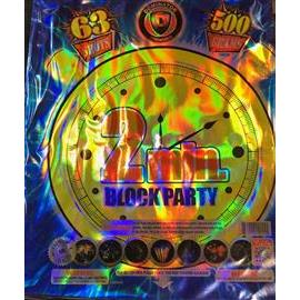 2 Minute Block Party - Limited Qty