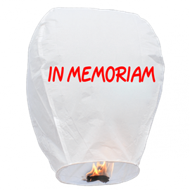 Sky Lantern In Memory (1) In Store Pick Up