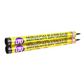 UV 182 Shot Neon Barrage Candle
