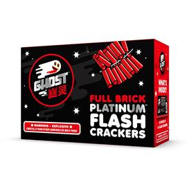 Ghost Flash Platinum Firecrackers (80/16 brick)
