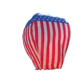 Sky Lantern American Flag(1) In Store Pick Up
