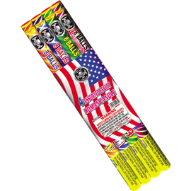 Assorted Roman Candles (4p)