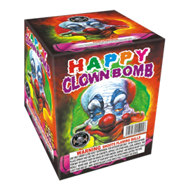 Happy Clown Bomb| Multi Shot Aerial Cake| Cutting Edge Fireworks