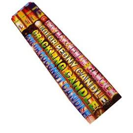 Assorted Legend Roman Candles  (4p)