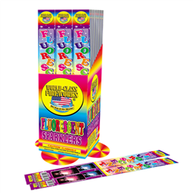 Florescent Sparklers(pack of 4pieces)