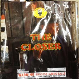 The Closer ( Close out collectible)