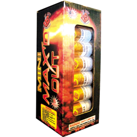 Mini Max'd Out Artillery Shell (6 Canisters)