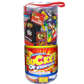 Bucket of Fireworks Kit ( 13 items)