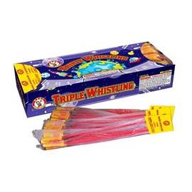 Triple Whistle Bottle Rockets