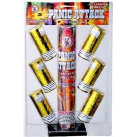 Panic Attack Artillery Shells ( 1 blister pack)