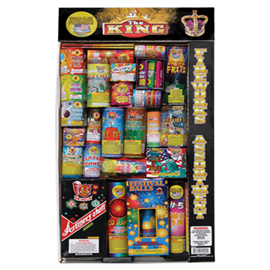 The King Assortment Kit|Jakes Fireworks