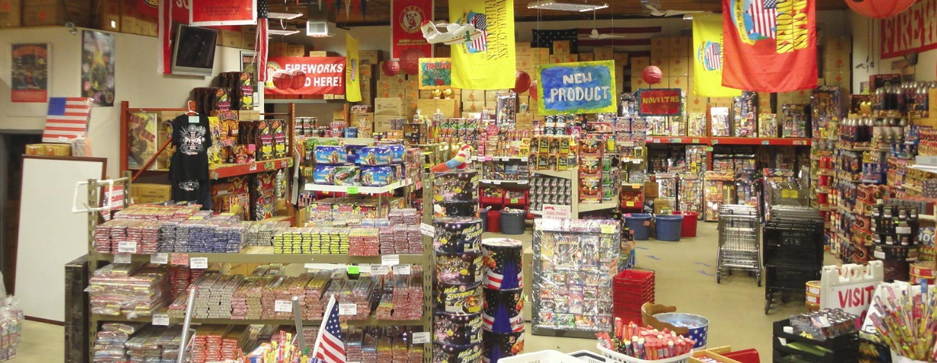 Boom Town Fireworks Store